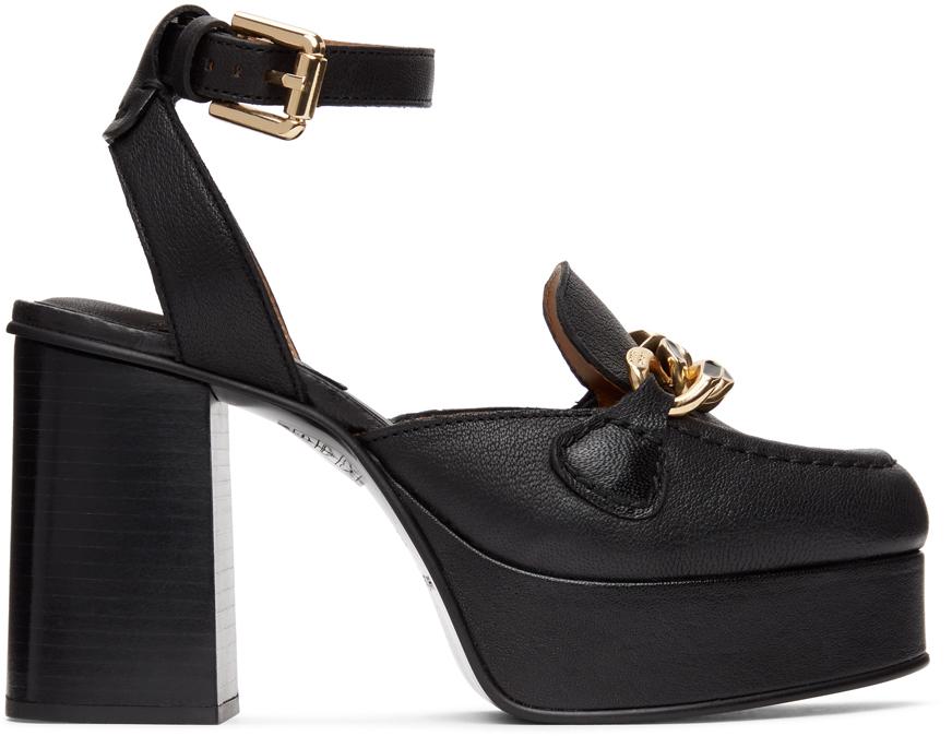See by Chloé 黑色 Mahe 高跟鞋