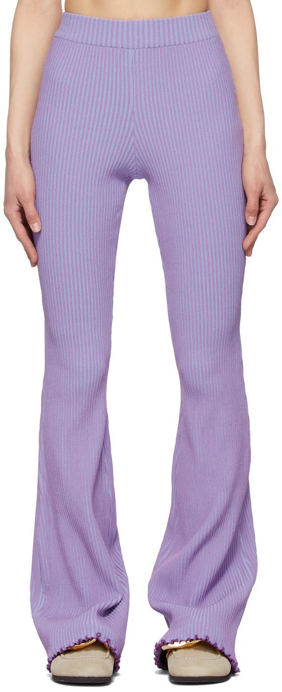 Purple & Blue Gianna Lounge Pants
