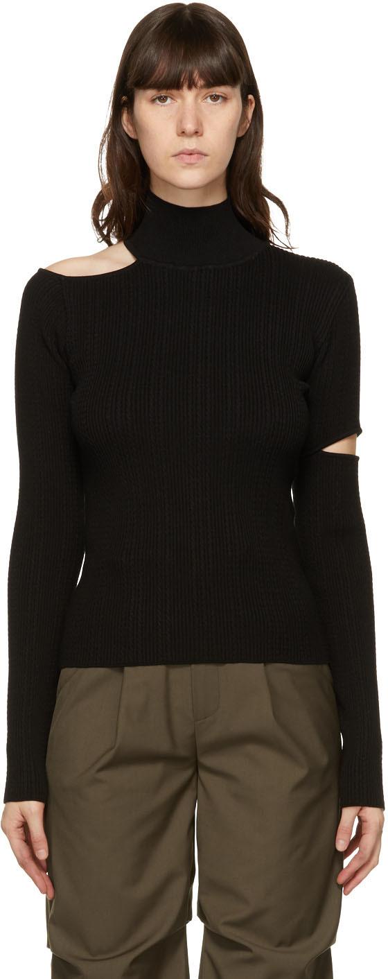 SSENSE Exclusive Black Jessica Sweater