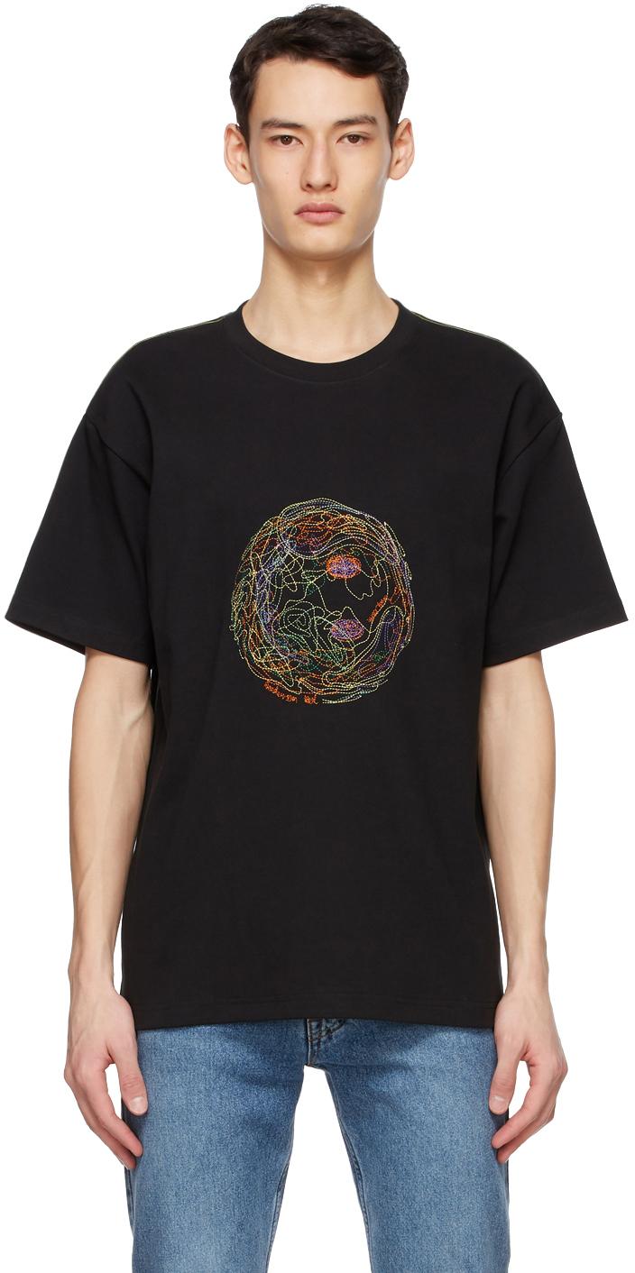 Black Smile Earth T-Shirt