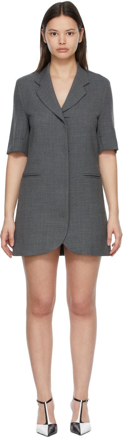 SSENSE Exclusive Grey Boy Mini Dress