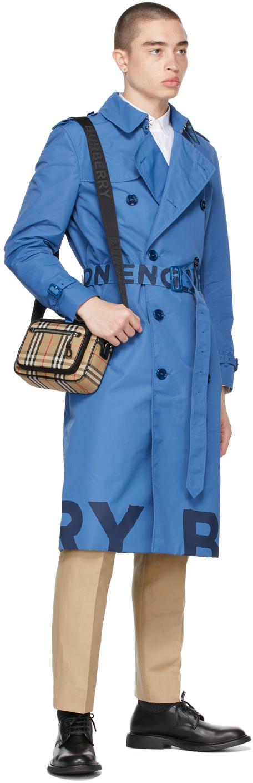 Lightweight ロゴ トレンチ コート
