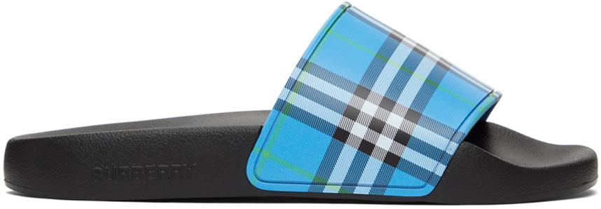 Blue Check Slides
