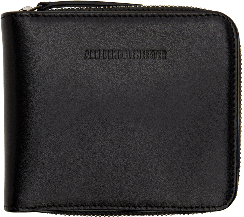Black Small Zipped Wallet