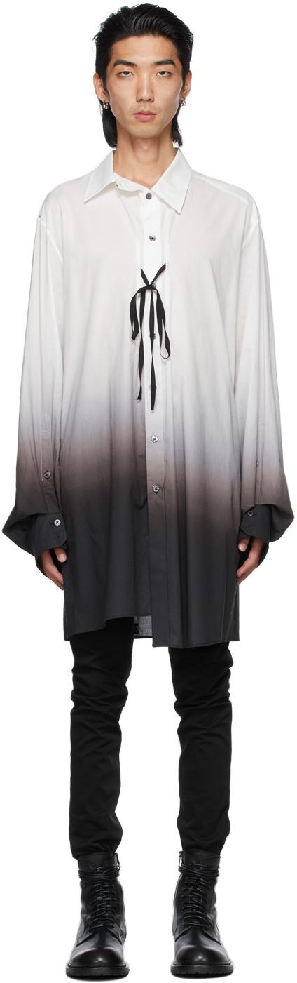 White & Black Degradé Shirt