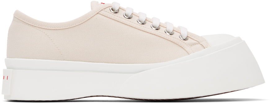 Off-White Canvas Pablo Sneakers