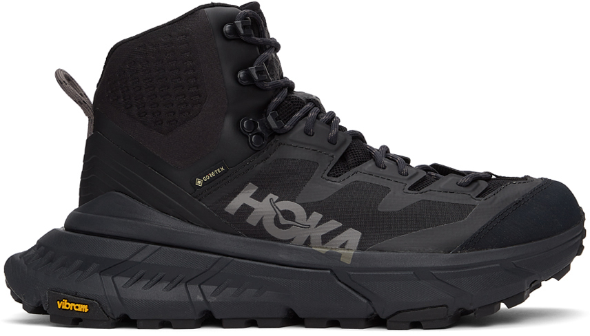 Hoka One One 黑色 Tennine Hike 踝靴