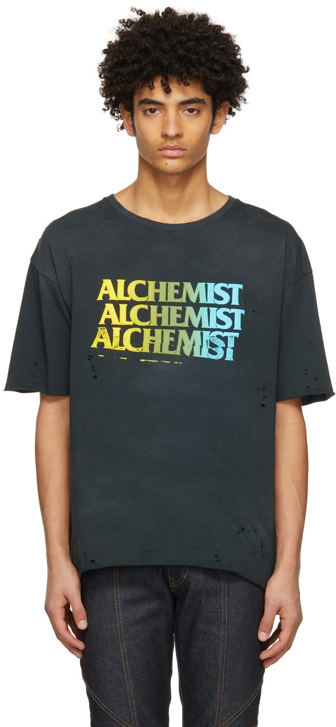Alchemist 黑色徽标 T 恤