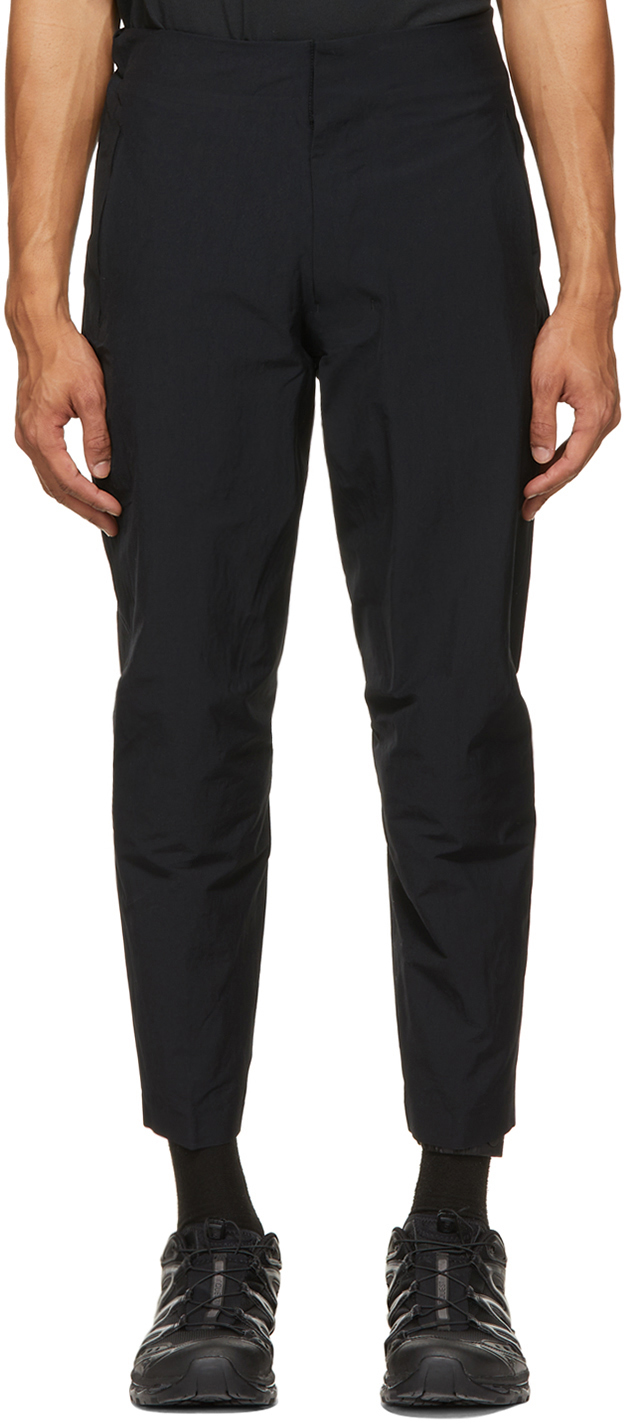 Descente ALLTERRAIN 黑色 Layered Gaiter Relaxed Fit 长裤