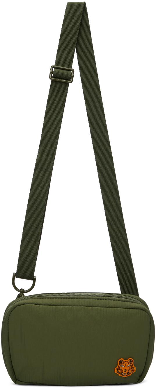 Khaki K-Tiger Shoulder Bag