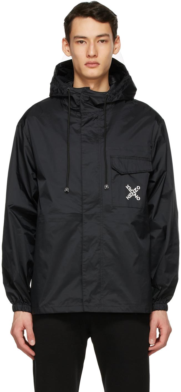 Black Sport 'Big X' Windstopper Jacket