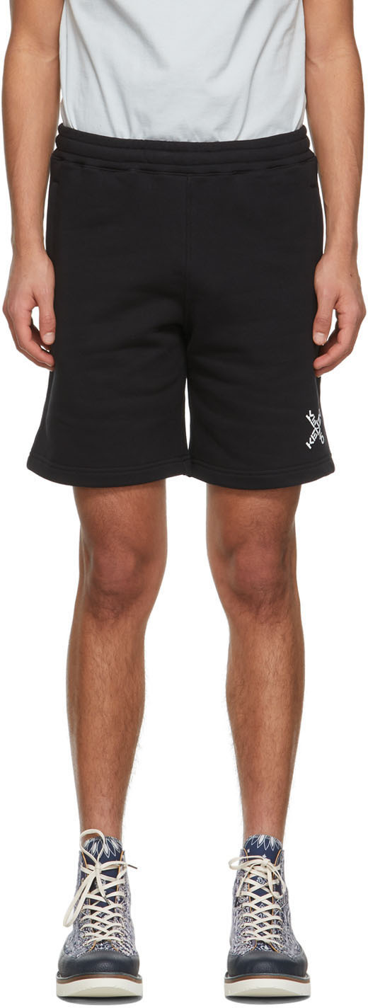 Black Little X Classic Sport Shorts