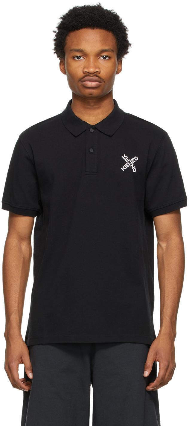 Kenzo 黑色 Sport Little X Polo 衫
