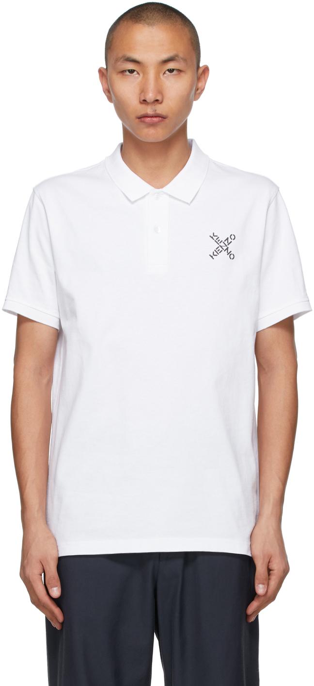 Kenzo 白色 X Sport Skate Polo 衫
