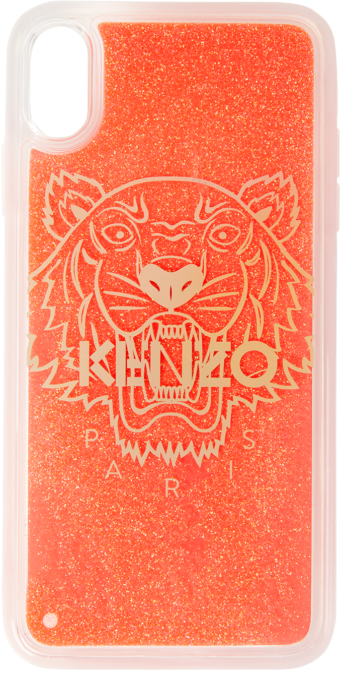 Pink Glow-In-The Dark Tiger iPhone X/XS Case