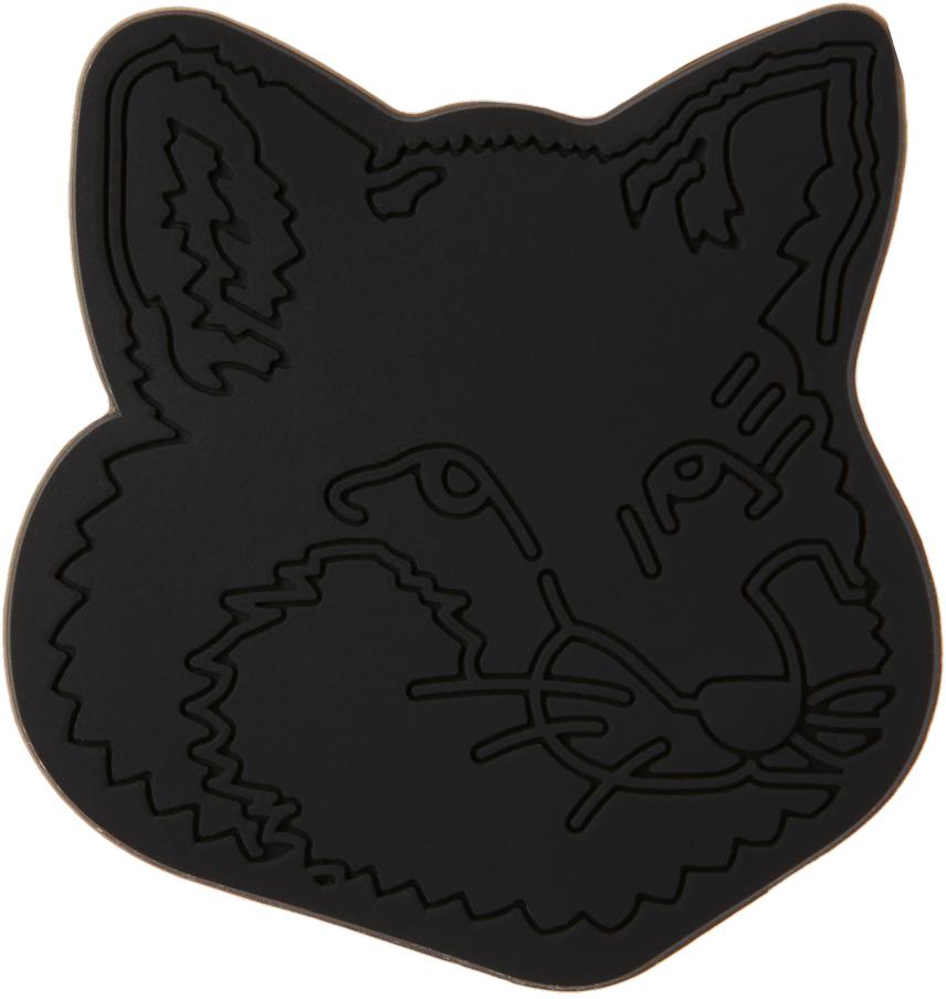 Maison Kitsuné Black Fox Head Phone Holder