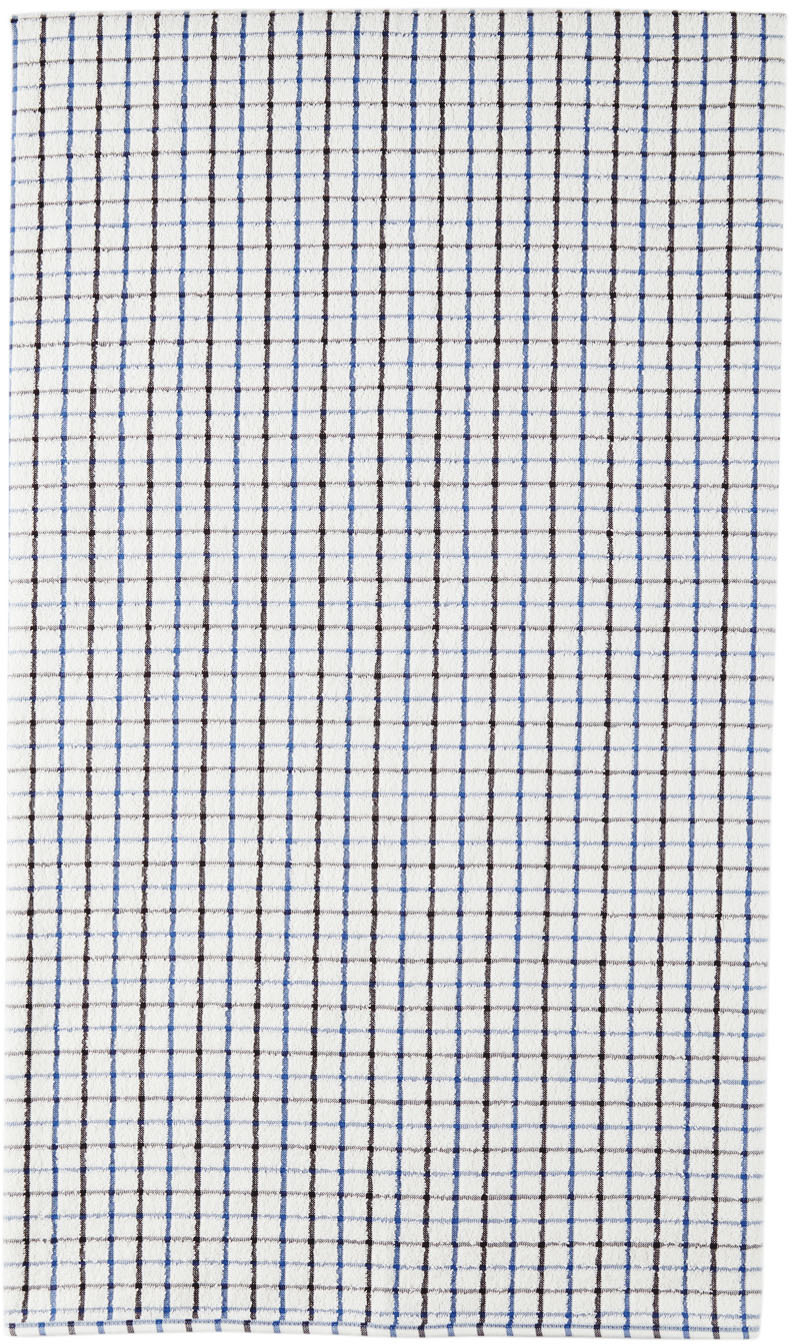 White Check Towel