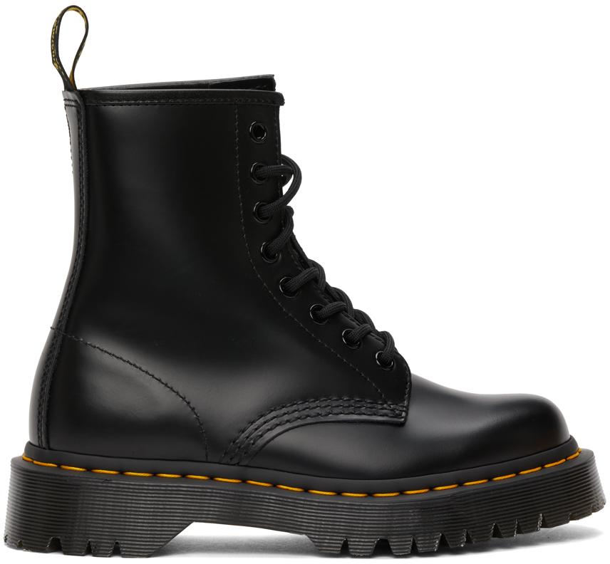 Black 1460 Bex Boots