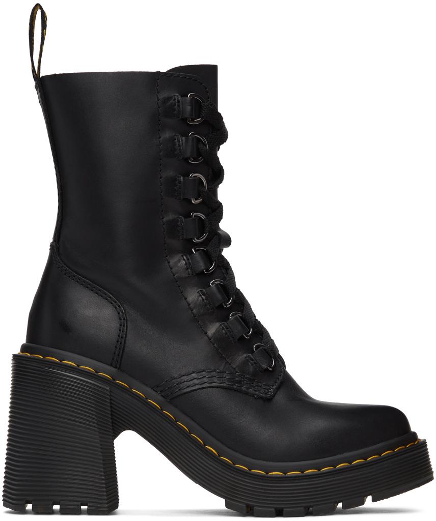 Dr. Martens 黑色 Chesney 中筒靴
