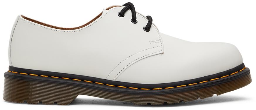 Dr. Martens 白色 1461 德比鞋