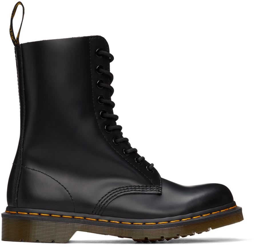 Black Smooth 1490 Boots