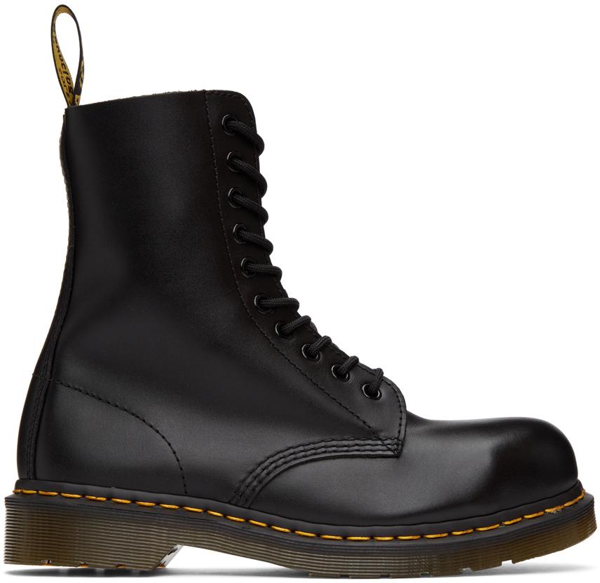 Dr. Martens 黑色 1919 中筒靴