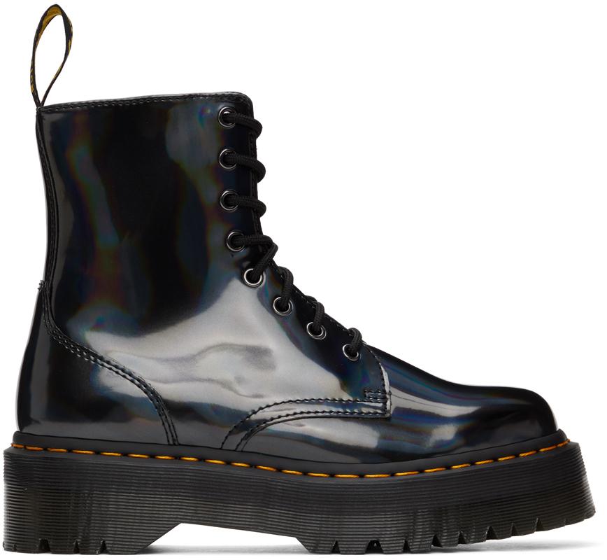 Dr. Martens 黑色 Jadon Hologram 踝靴