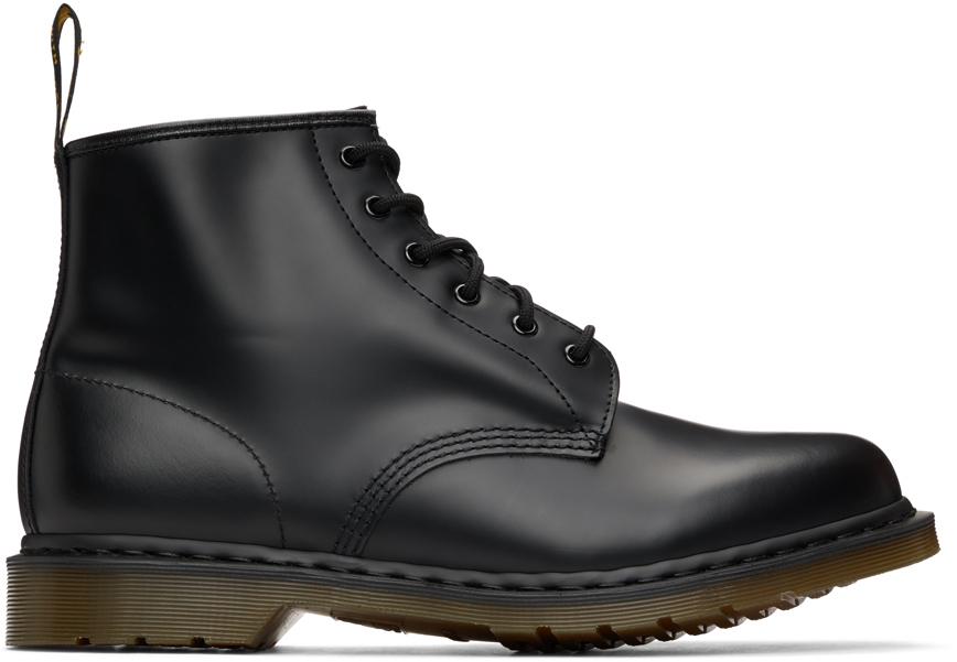 Dr. Martens 黑色 101 踝靴