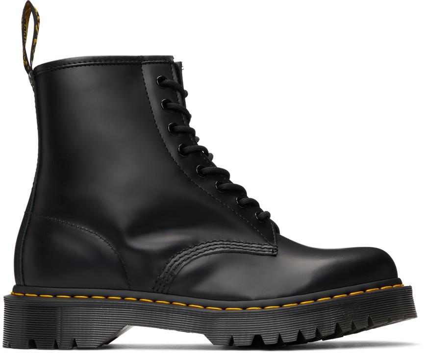 Black 1460 Bex Platform Boots