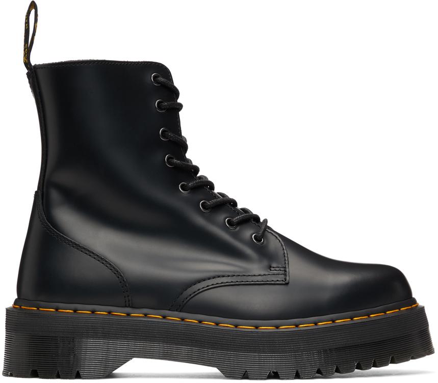 Black Jadon Platform Boots