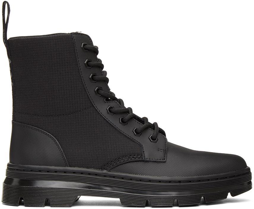 Dr. Martens 黑色 Combs 2 踝靴
