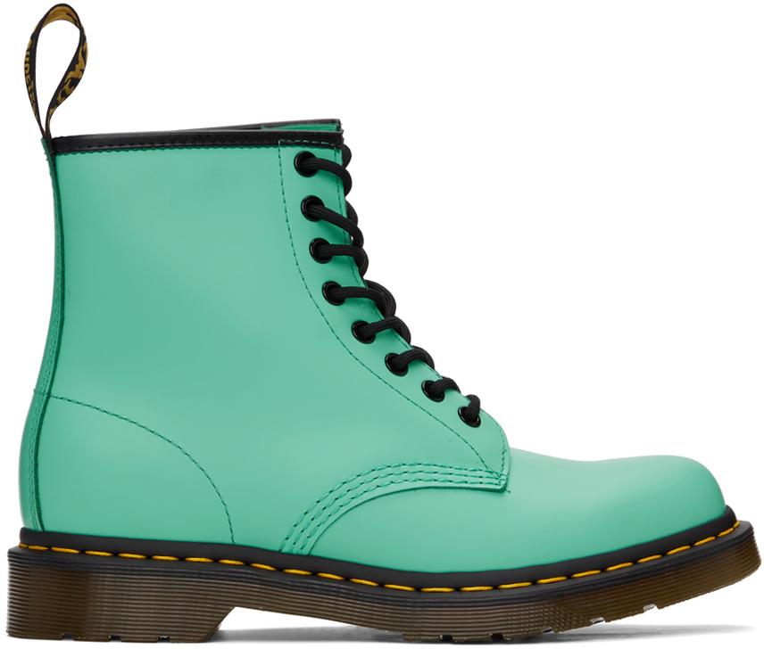 Dr. Martens 绿色 1460 踝靴