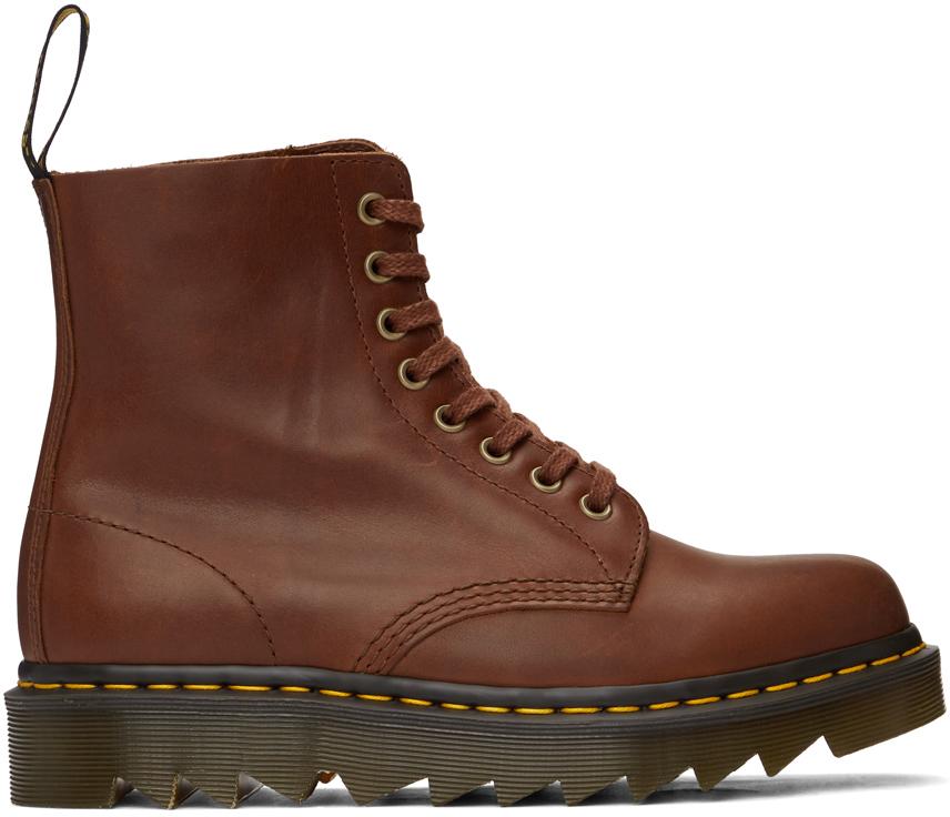 Dr. Martens 黄褐色 1460 Pascal Ziggy 踝靴