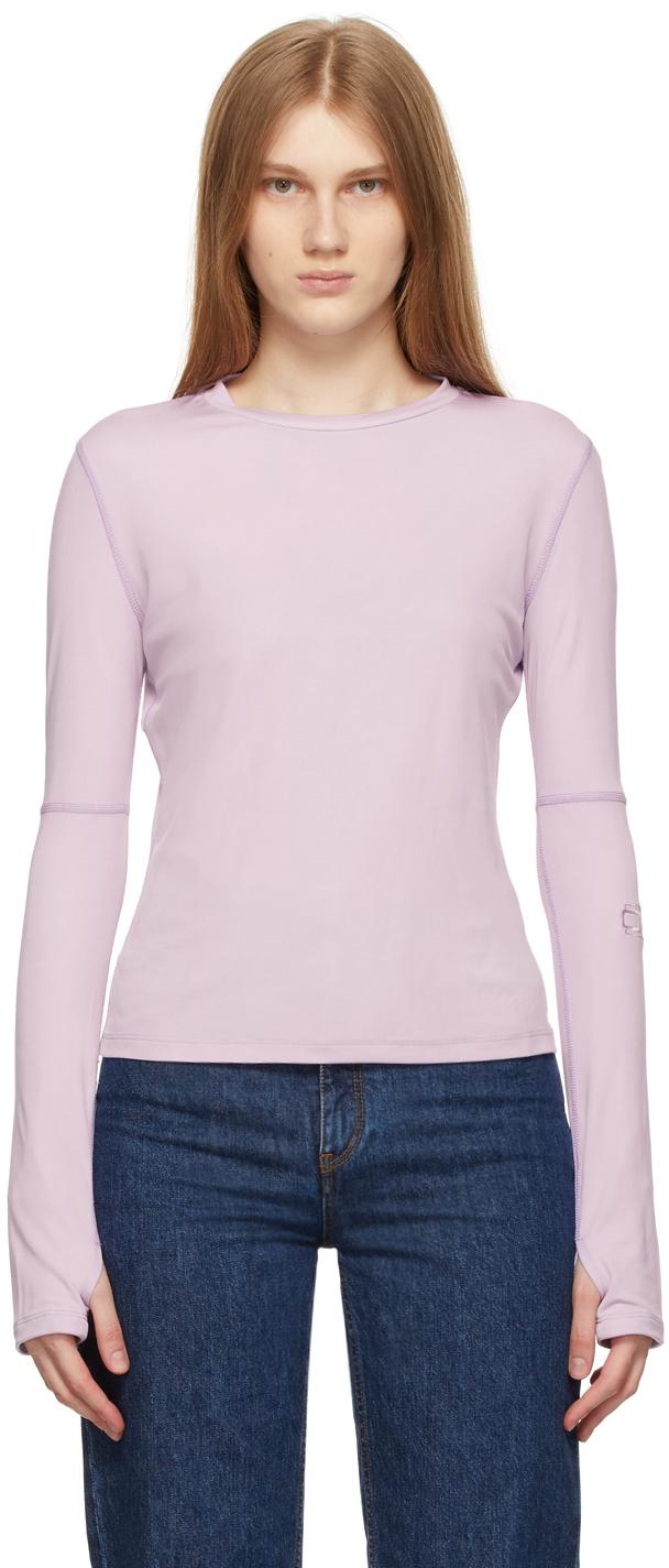 Purple Jersey Sunblock Long Sleeve T-Shirt