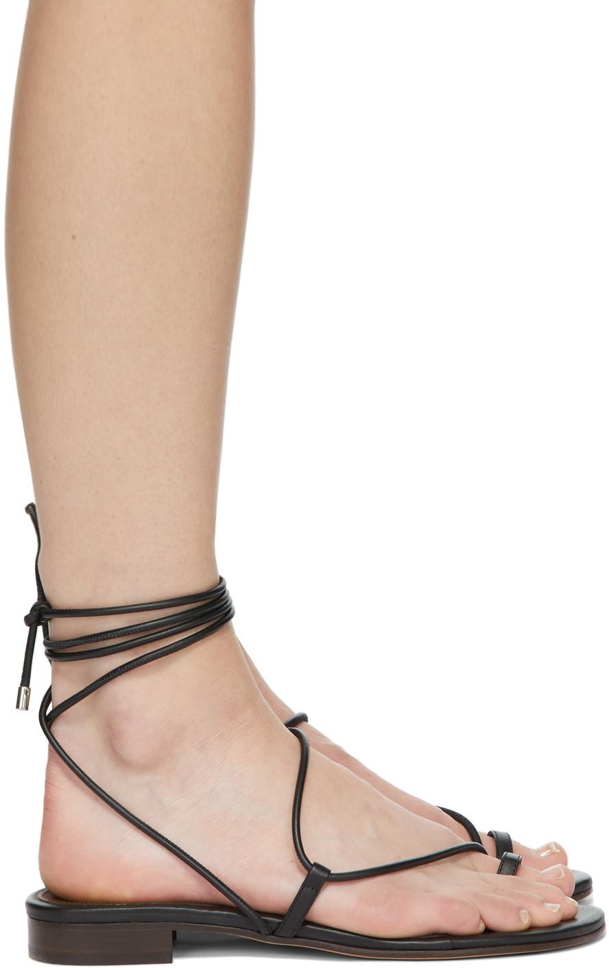 Black Susan Sandals