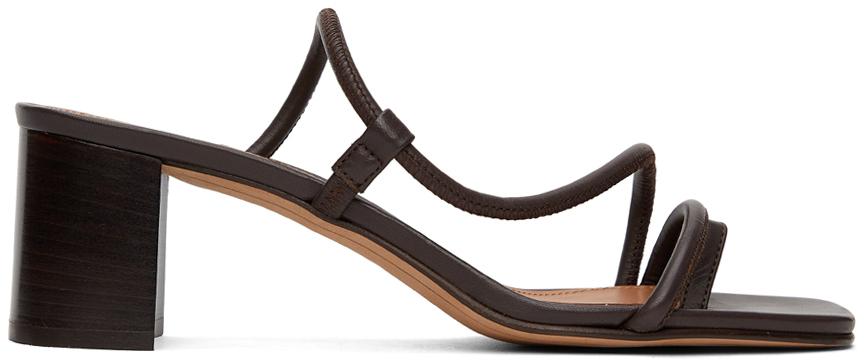 Brown Brera Heeled Sandals