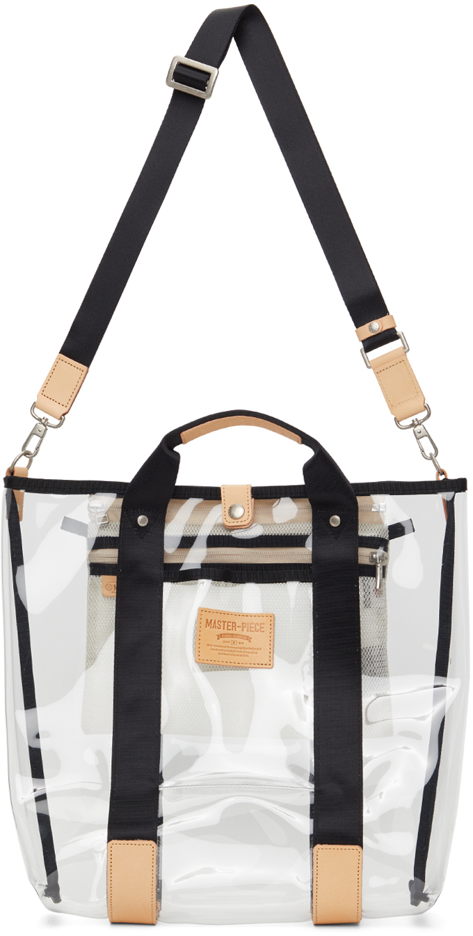 Master-Piece Co Transparent Liquid Tote Bag