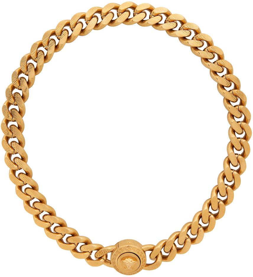 Gold Medusa Tribute Choker