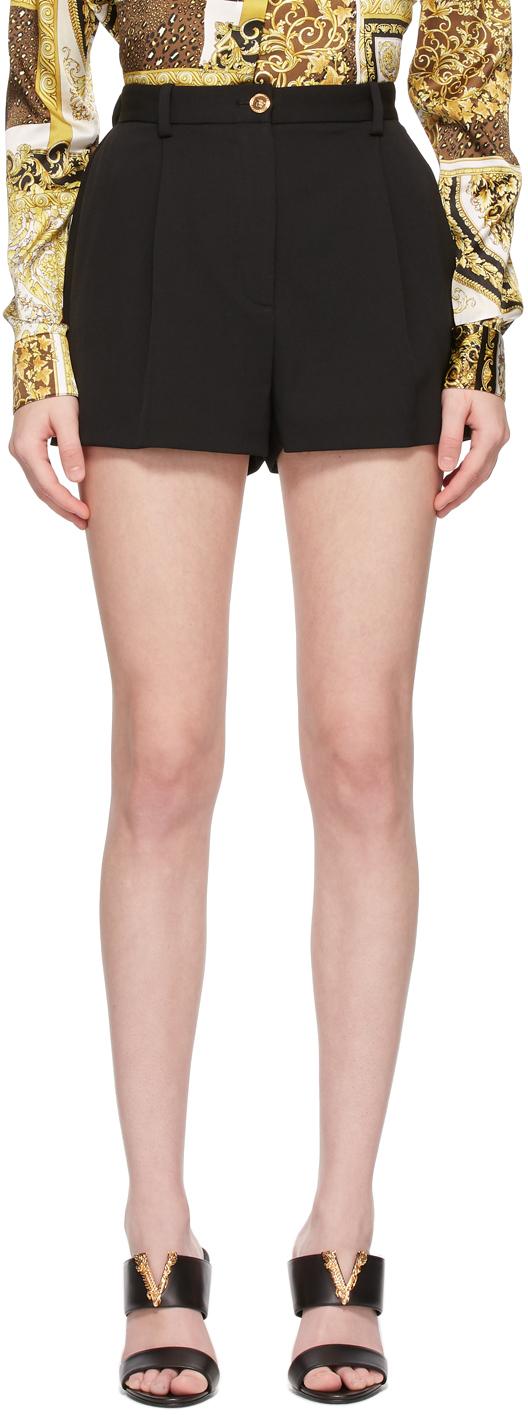 Versace 黑色 Granite 短裤