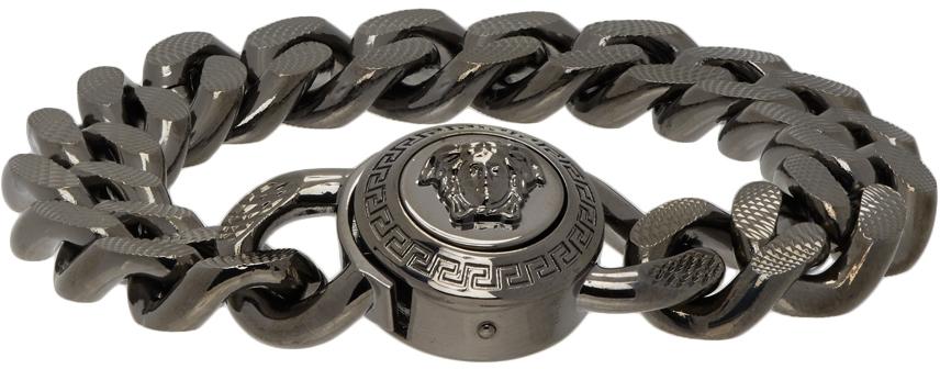 Versace 枪色 Medusa Chain 手链