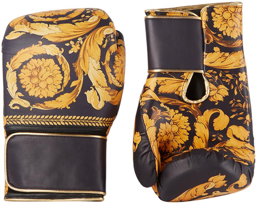Black & Gold Boxing Gloves
