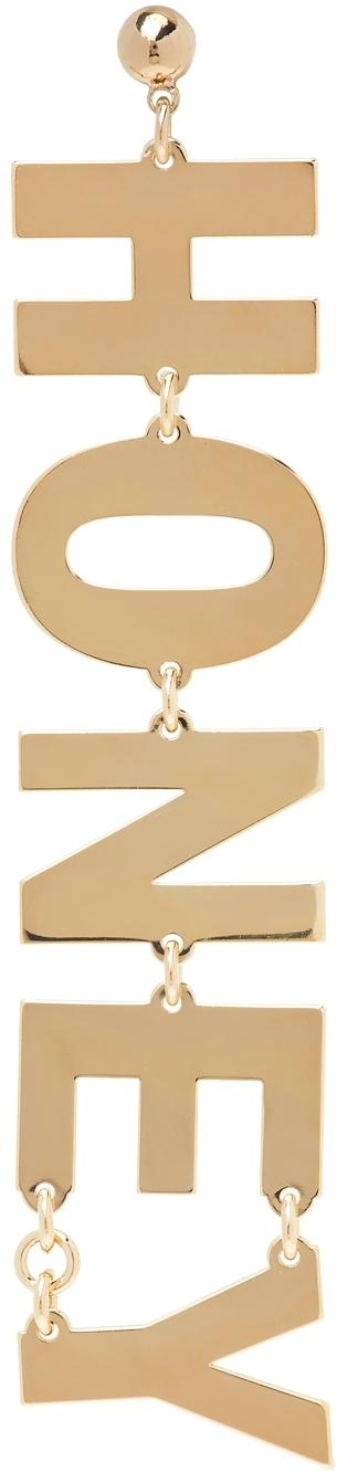 Gold 'Honey' Single Earring