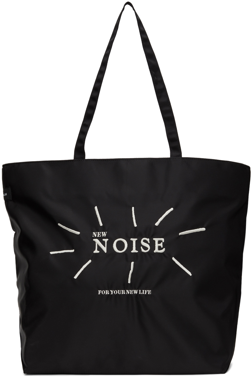 Black 'New Noise' Tote