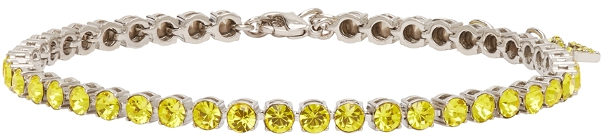 Yellow Tennis Anklet