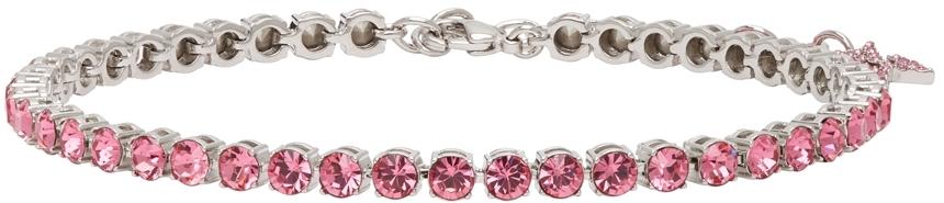 Pink Tennis Anklet