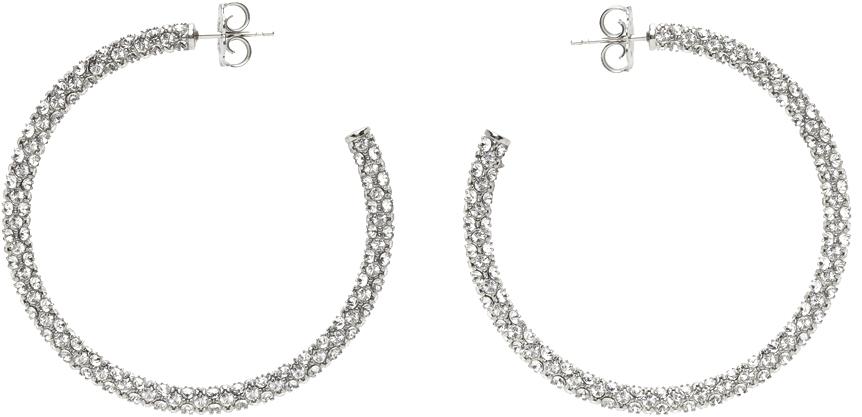 Silver Cameron Hoop Earrings