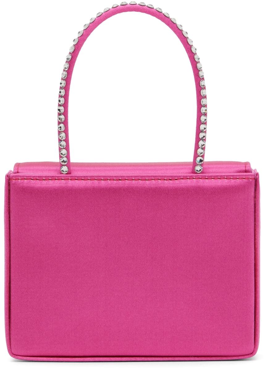 Amina Muaddi Pink Super Amini Gilda Bag