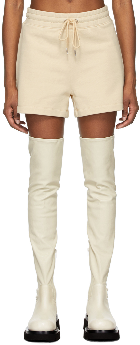 Beige Terry Boxer Shorts