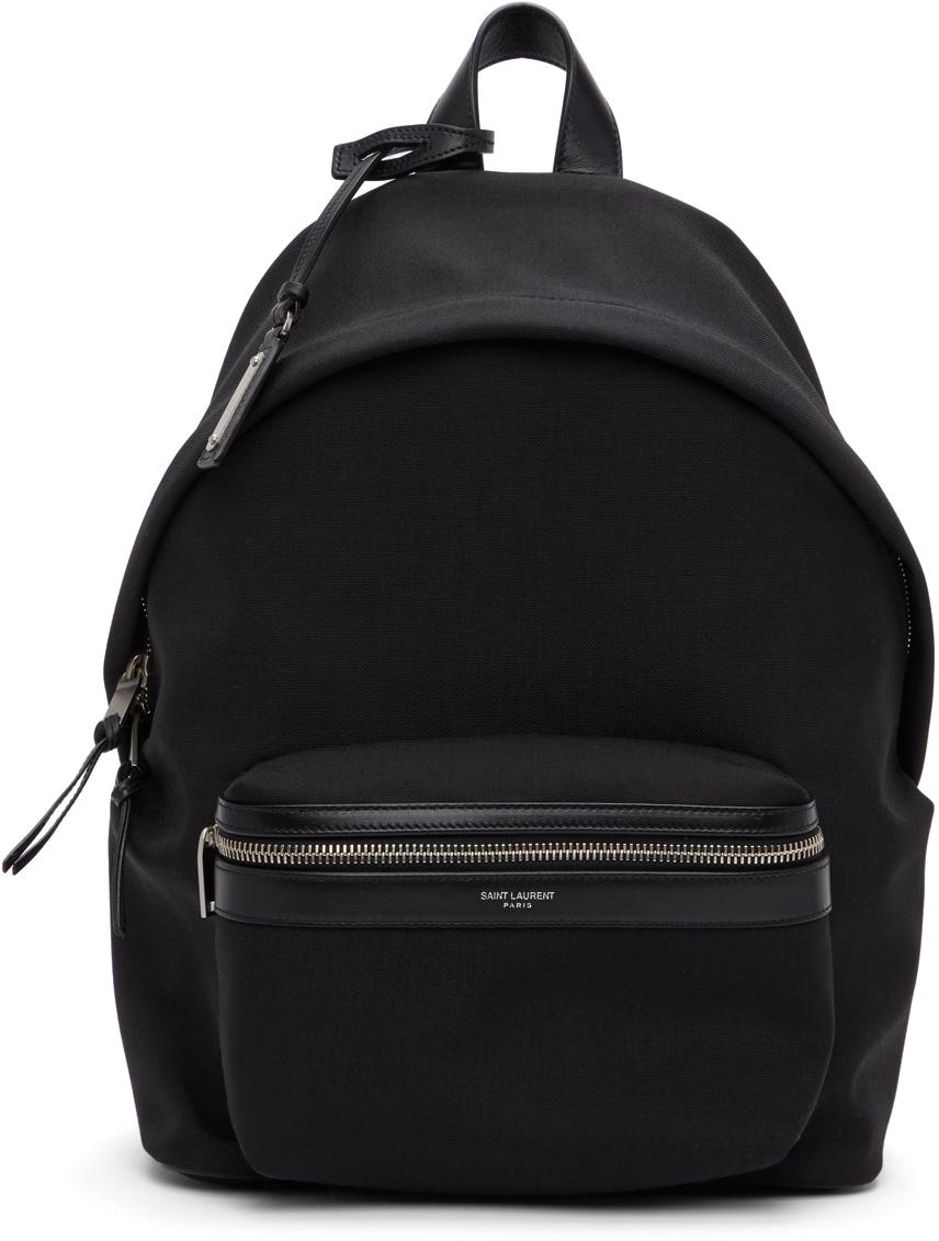Black Mini City Backpack