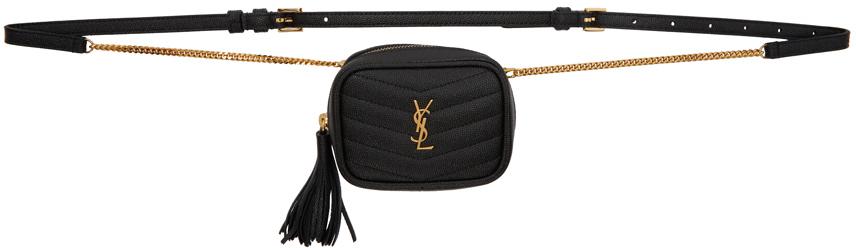 Black Baby Lou Belt Bag